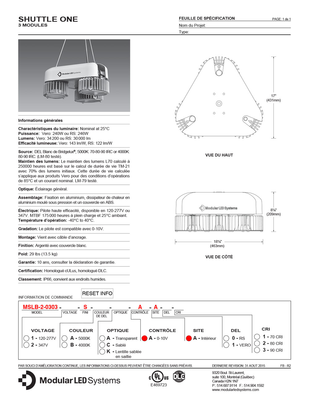 shuttle-one-3-modules_specifications